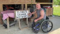 Desplazados por el cambio climático: indígenas de Luisiana dejan tierras que desaparecen bajo el agua