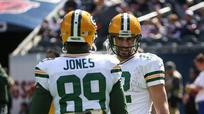 Packers 31-23 Bears: Green Bay gana, con dupla Aaron Rodgers-James Jones