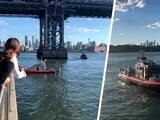 Hombre muere tras saltar al East River para recuperar un balón de voleibol