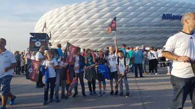 Viva la fiesta: el colorido en el arranque de competencias de la UEFA Nations League