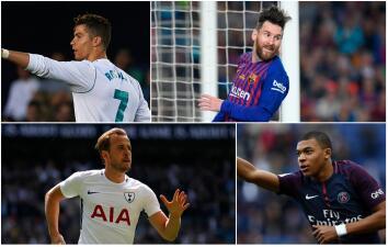 Los candidatos al Balón de Oro 2017 y quienes pueden pelear por el galardón en este 2018