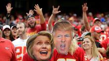 Donald Trump y Hillary Clinton: qué deportistas apoyan a cada candidato