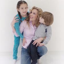 Las fotos que demuestran que Thalía y sus hijos son igualitos