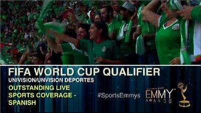¡Enhorabuena! Univisión Deportes se llevó un Sports Emmy Award
