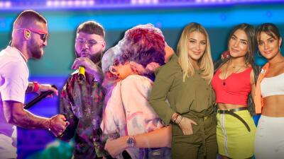 'Flow' y amor irrumpen en Florida el tercer día de ensayos de Premios Juventud