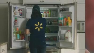 Del supermercado a tu refrigerador, Walmart ofrece a sus clientes ponerle la comida en la nevera cuando no estén en casa