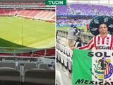 Chivas invita a un palco a aficionado que fue sacado del estadio