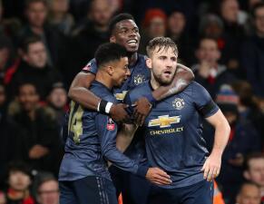 En fotos: Manchester United hace historia ante el Arsenal en la FA Cup