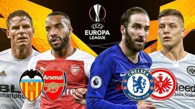 ¡La hora de la verdad! Cuatro equipos luchan por dos cupos para la Final de Europa League