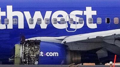 Identifican a la mujer que murió tras romperse su ventana en el avión que aterrizó de emergencia en Filadelfia