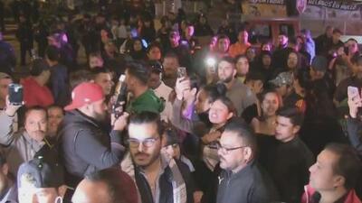 Vecinos de Tijuana protestan por la llegada de la caravana migrante