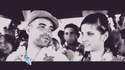 Nacho recordó el día de su boda con un romántico video