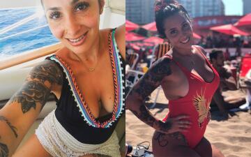 Noelia Pons, la compañía y amor del goleador de Boca, Darío Benedetto