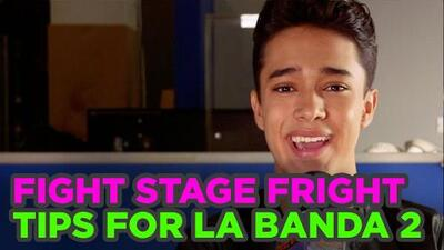 How to overcome stage fright: Tips for La Banda 2 Auditions