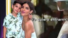 Ternura total: así le pidió Matteo a su mamá, Ale Espinoza, que lo llevara a El Gordo y La Flaca
