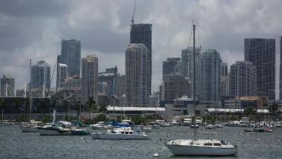 Probabilidad de lluvias y tormentas para este domingo en Miami