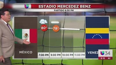 Advierten sobre posibilidad de lluvias durante juego entre México y Venezuela