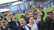 Férrea seguridad en toma de posesión en segundo mandato de Juan Orlando Hernández