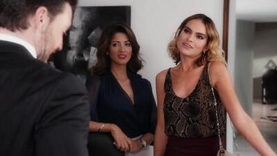 Nancy explotó de celos al ver a Carlos en compañía de Michelle