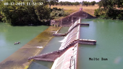 Draining of lakes surrounding Guadalupe river delayed