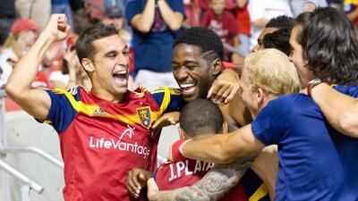 El delantero de Real Salt Lake Sebastián Jaime triunfa en una nueva posición