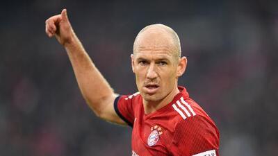 ¿Con la mira en el retiro? Robben deja al Bayern al final de temporada