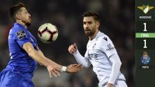 Pese al golazo de Héctor Herrera, el Porto tropieza con Moreirense