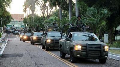 Culiacán intenta volver a la normalidad tras la balacera que desencadenó la localización de un hijo de 'El Chapo'