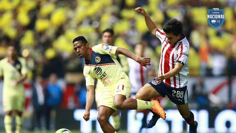El color en el Azteca: América habló con goles en el Clásico Nacional; Chivas, solo palabras