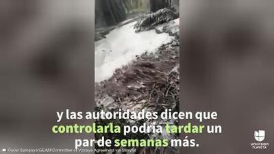En video: Derrame de petróleo amenaza tres ríos y a un centenar de personas en Colombia