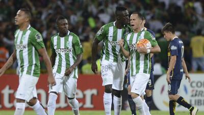 Atlético Nacional avanzó con agonía a semifinales tras vencer a Rosario Central