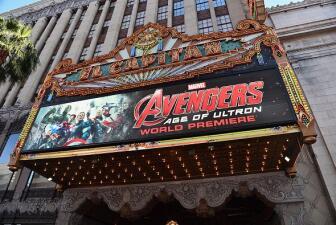 Los Avengers brillaron en Hollywood