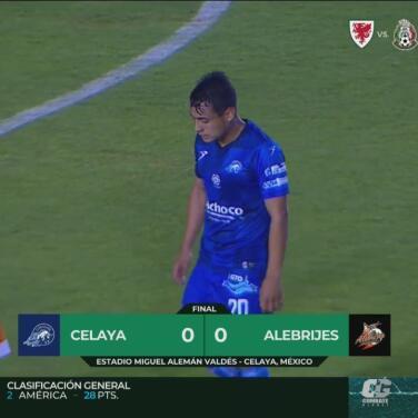¡Sin puntería! Celaya y Alebrijes se cansan de fallar y empatan 0-0