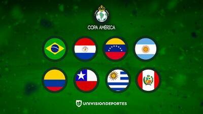 Listos los Cuartos de Final de la Copa América; destaca el Colombia vs Chile
