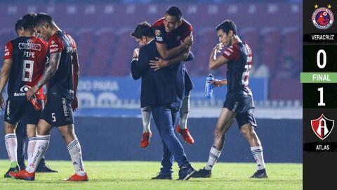Veracruz 0-1 Atlas - RESUMEN Y GOL – Jornada 13 - Clausura 2019 Liga MX