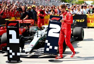 En fotos: Vettel expresó su molestia con berrinche tras sanción en el GP de Canadá