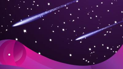 Así te impactará la lluvia de estrellas de las Oriónidas