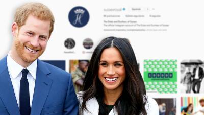 La especial razón por la que Meghan Markle y el príncipe Harry dejaron de seguir a todo el mundo en Instagram
