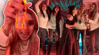 Al calor del tequila, Galilea Montijo cantó y bailó en su posada con Inés Gómez Mont y Yadhira Carrillo