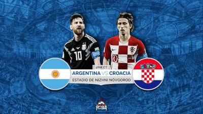 La Albiceleste busca demostrar su grandeza provocando primera derrota de Croacia