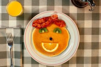 Pancakes muy divertidos