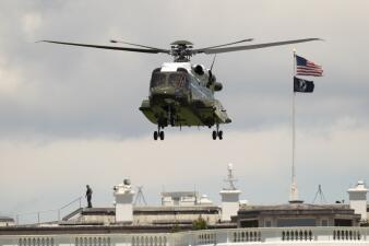 Un nuevo helicóptero para el Presidente: el modelo que sustituirá al 'Marine One' aterrizó en la Casa Blanca