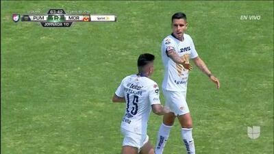 ¡GOOOL! Juan Iturbe anota para Pumas UNAM