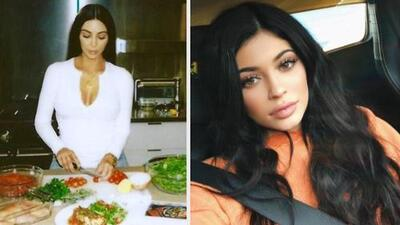 Kim Kardashian ya no sabe qué hacer para llamar la atención y  a su hermana le ponen un stop