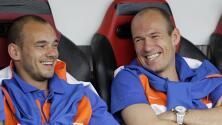 Sneijder seguiría pasos de Robben y puede volver a jugar en la Eredivisie