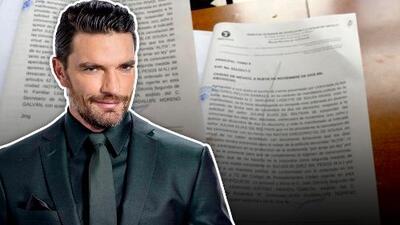 Juez le niega a Julián Gil solicitud de suspender visitas a su hijo y lo amenaza con multa si no aparece