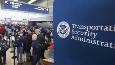 Agentes de la TSA se estarían reportando enfermos para no ir a trabajar a los aeropuertos del país sin recibir salario