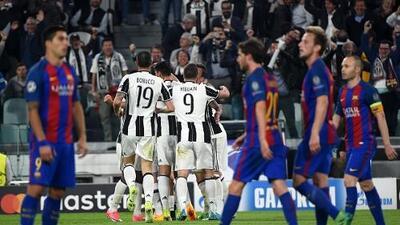 El Barcelona pierde 3-0 ante Juventus y se queda al borde de la eliminación