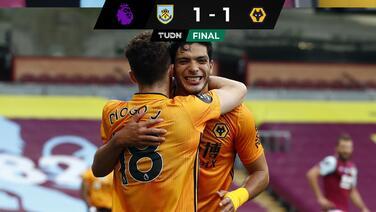 Raúl Jiménez hace su gol 17; el Wolverhampton deja ir el triunfo