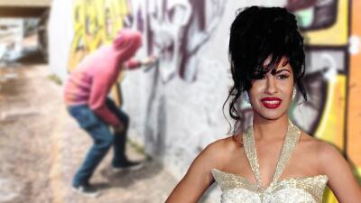 Con un enorme mural de Selena Quintanilla pretenden inspirar a los hispanos en EEUU